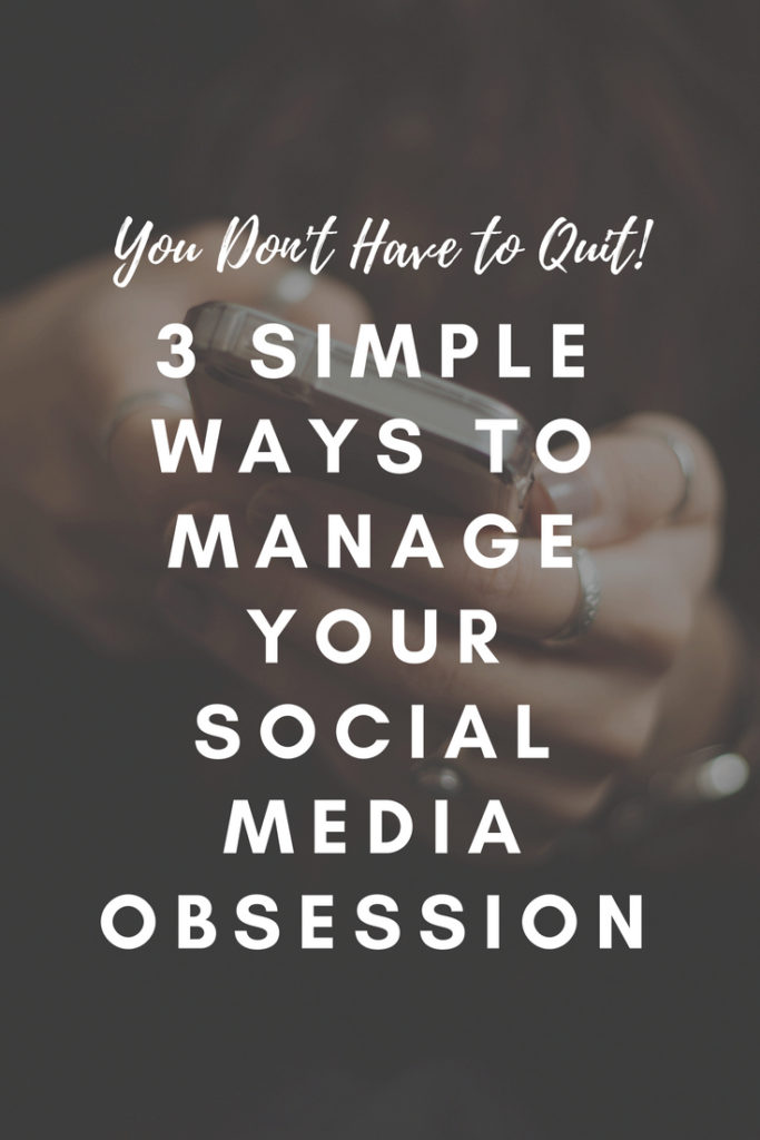 curb social media obsession